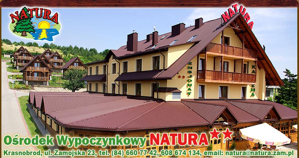 Natura Roztocze - Domki krasnobród Logo